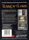 Times of Lore Commodore 64 Back Cover