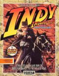 Indiana Jones and the Last Crusade: The Action Game Commodore 64 Front Cover