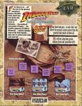 Indiana Jones and the Last Crusade: The Action Game Commodore 64 Back Cover
