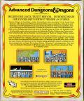 Dragons of Flame Commodore 64 Back Cover
