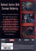 Blade II PlayStation 2 Back Cover