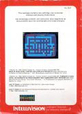 Lock 'n' Chase Intellivision Back Cover