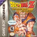 Dragon Ball Z: The Legacy of Goku Game Boy Advance Front Cover