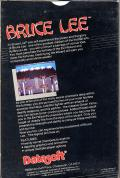 Bruce Lee Commodore 64 Back Cover