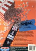 Sinbad and the Throne of the Falcon Commodore 64 Back Cover