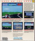 The Cycles: International Grand Prix Racing Commodore 64 Back Cover