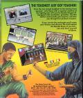 Double Dragon III: The Sacred Stones Commodore 64 Back Cover
