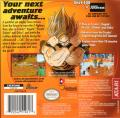 Dragon Ball Z: The Legacy of Goku II Game Boy Advance Back Cover
