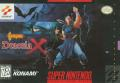 Castlevania: Dracula X SNES Front Cover