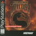 Mortal Kombat Trilogy PlayStation Front Cover
