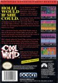Cool World NES Back Cover