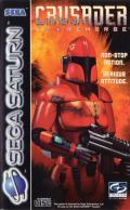 Crusader: No Remorse SEGA Saturn Front Cover