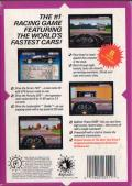 The Duel: Test Drive II Genesis Back Cover
