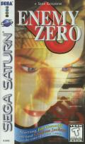 Enemy Zero SEGA Saturn Front Cover