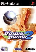 Tennis 2K2 PlayStation 2 Front Cover