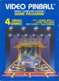 Video Pinball Atari 2600 Front Cover