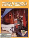 Where in Europe is Carmen Sandiego? Commodore 64 Front Cover