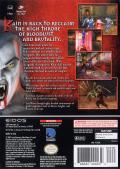 The Legacy of Kain Series: Blood Omen 2 GameCube Back Cover