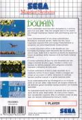 Ecco the Dolphin SEGA Master System Back Cover