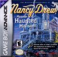 Nancy Drew: Message in a Haunted Mansion Game Boy Advance Front Cover