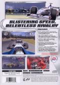 F1 2001 PlayStation 2 Back Cover