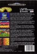 Battletoads Genesis Back Cover