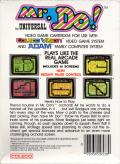 Mr. Do! ColecoVision Back Cover