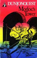 Dunjonquest: Morloc's Tower Apple II Front Cover
