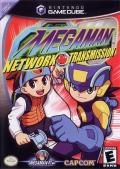 Mega Man Network Transmission GameCube Front Cover