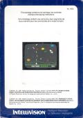 Astrosmash Intellivision Back Cover