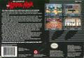 The Legend of the Mystical Ninja SNES Back Cover