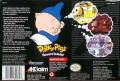 Porky Pig's Haunted Holiday SNES Back Cover