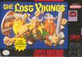 The Lost Vikings SNES Front Cover