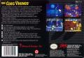 The Lost Vikings SNES Back Cover