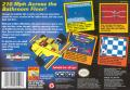 Micro Machines SNES Back Cover