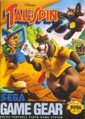 Disney's TaleSpin Game Gear Front Cover