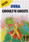 Ghouls 'N Ghosts SEGA Master System Front Cover