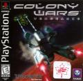 Colony Wars: Vengeance PlayStation Front Cover
