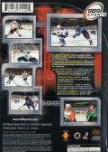 NHL FaceOff 2001 PlayStation 2 Back Cover