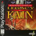 Blood Omen: Legacy of Kain PlayStation Front Cover