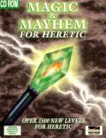 Magic & Mayhem for Heretic DOS Front Cover