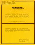 Windfall Apple II Front Cover