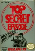 Golgo 13: Top Secret Episode NES Front Cover