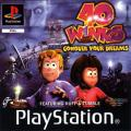 40 Winks PlayStation Front Cover