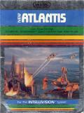 Atlantis Intellivision Front Cover