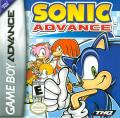 Sonic Advance Game Boy Advance Front Cover