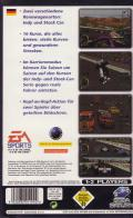 Andretti Racing SEGA Saturn Back Cover