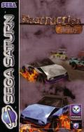 Destruction Derby SEGA Saturn Front Cover