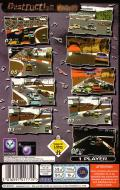 Destruction Derby SEGA Saturn Back Cover