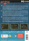Dino Crisis 2 Windows Back Cover